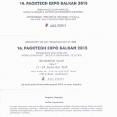Insignis na Packtech Expo Balkan 2015